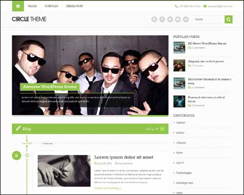 Circle_Free_Responsive_WordPress_Theme