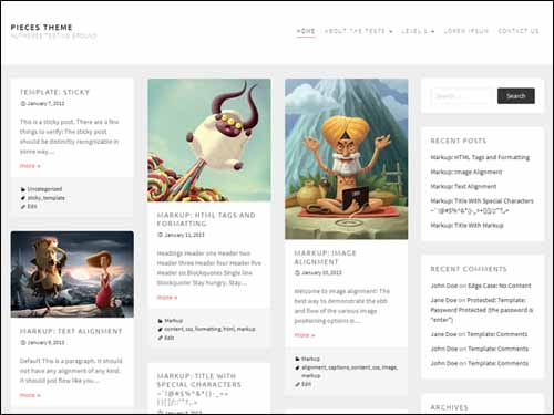 Pieces-Free-Responsive-WordPress-Theme