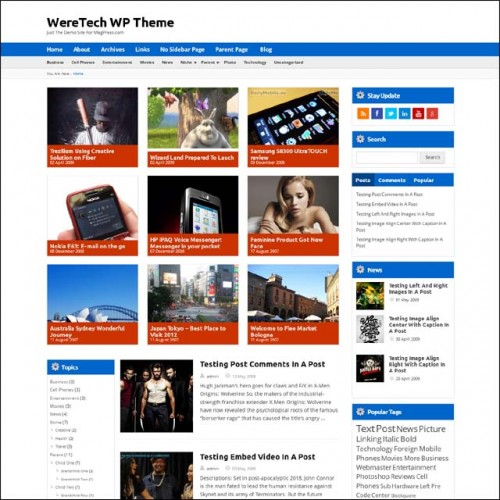 WereTech.wordpress.theme