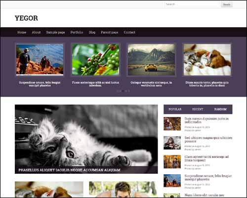 Yegor_Free_WordPress_Theme